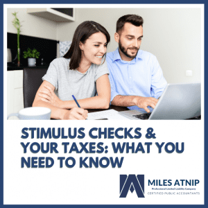 Stimulus Checks And Your Taxes: What You Need To Know